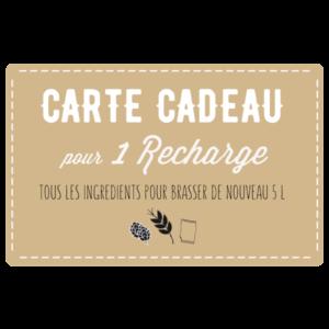 carte-cadeau-recharge brassage artisanal mon kit a biere