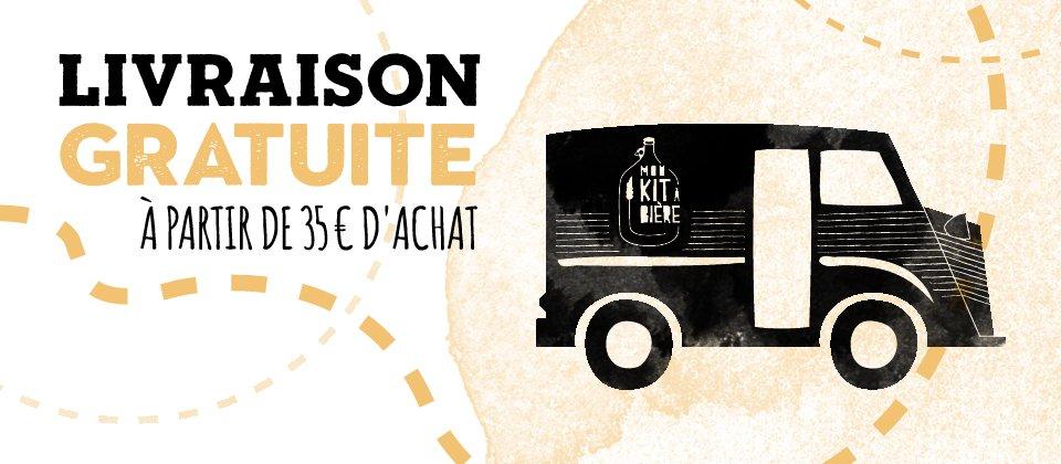 livraison-gratuite-kit-brassage-biere-bière-artisanale-fabrication-maison-brasser-amateur